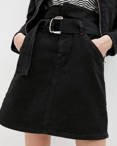 Джинсовая юбка - черная Max&co