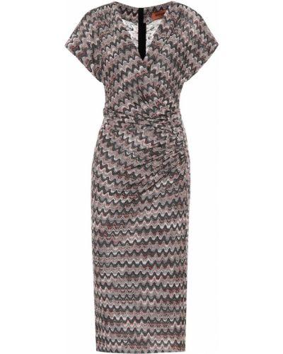 Облегающее платье миди из вискозы Missoni