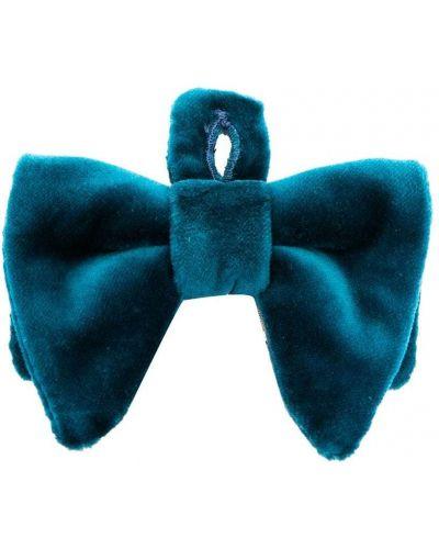 Ватная синяя бархатная резинка для волос Gucci Kids