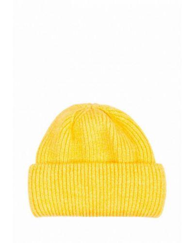 Желтая шапка L'maro