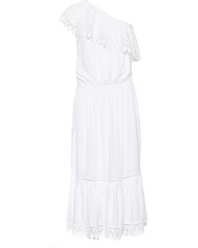 Платье миди через плечо из вискозы Melissa Odabash