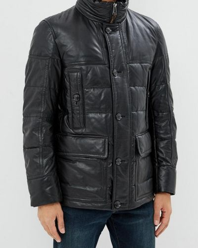 Куртка осенняя кожаная Windsor