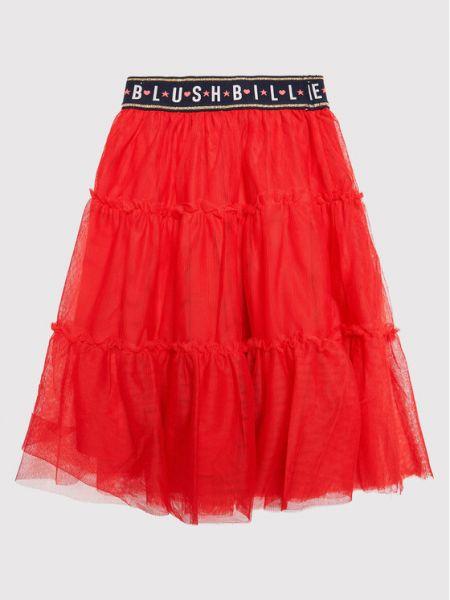 Czerwona spódnica Billieblush