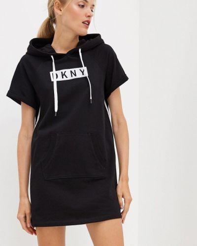 Черное платье Dkny