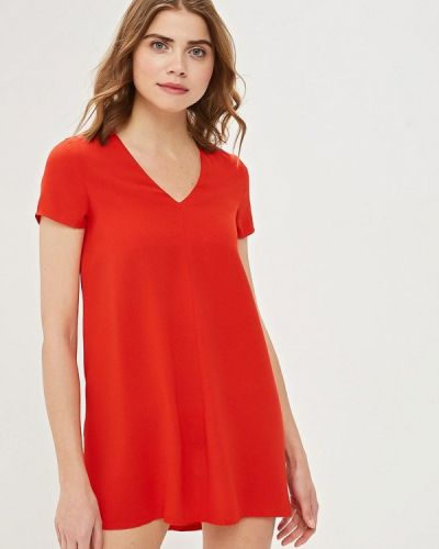 Платье красный Modis