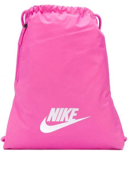 Różowy sport plecak Nike