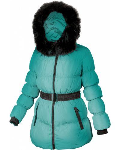 Куртка с капюшоном - бирюзовая Mirage