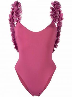 Пляжный купальник - розовый La Reveche