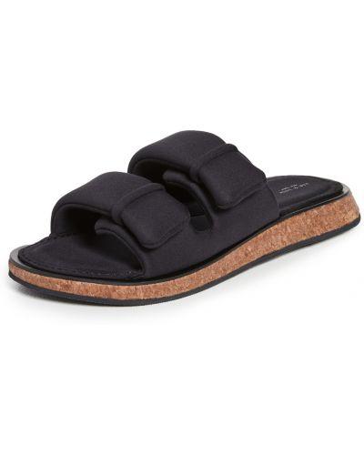 Sandały z klamrą - czarne Rag & Bone