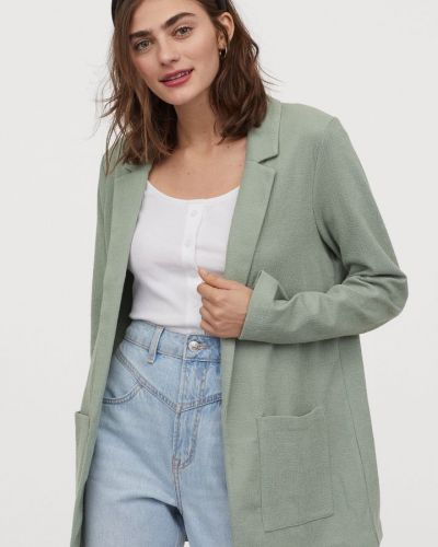 Пиджак мятный H&m