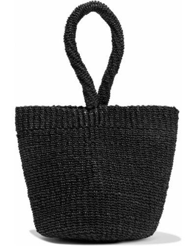 Czarna torebka Kayu