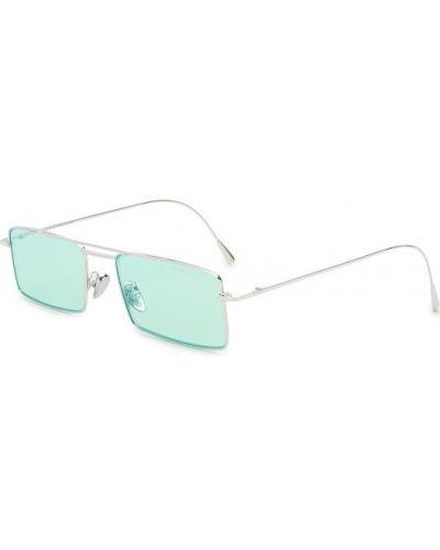 Бирюзовые солнцезащитные очки Cutlerandgross