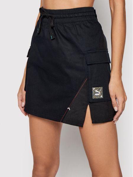 Czarna spódnica mini Puma