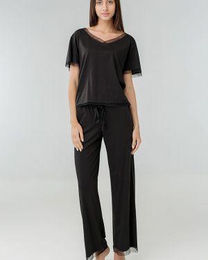 Пижама - черная Ora