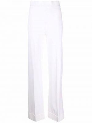 Белые брюки на шпильке Malo