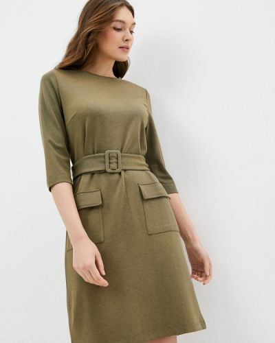 Прямое зеленое платье Savage