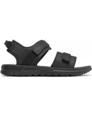 Sandały na rzepy - czarne New Balance