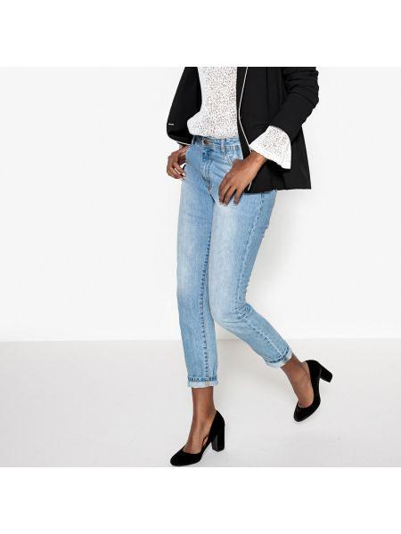 Синие джинсы бойфренды La Redoute Collections
