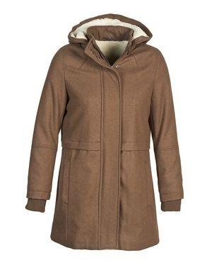 Brązowy płaszcz przeciwdeszczowy Naf Naf