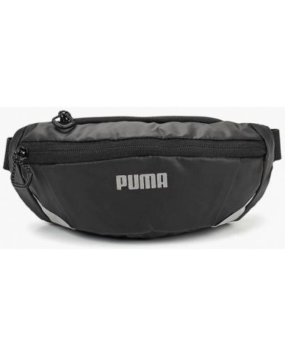 Поясная сумка текстильная черная Puma