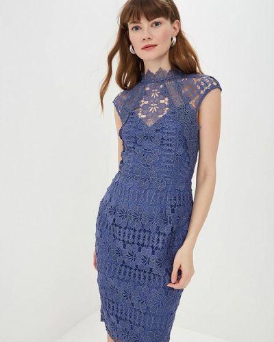 Платье весеннее синее Little Mistress