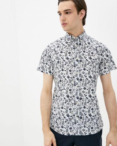 Белая рубашка с короткими рукавами Produkt