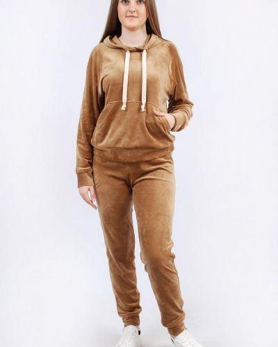 Костюмный коричневый спортивный костюм Sab