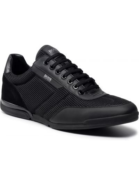 Sneakersy - czarne Boss