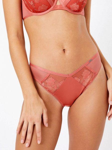 Трусы розовый слипы Marks & Spencer