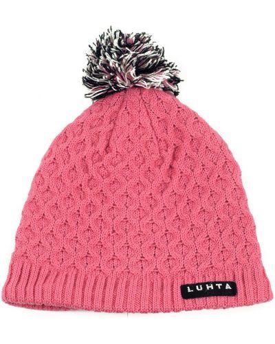 Розовая шапка Luhta