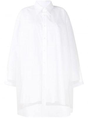 Платье макси длинное - белое Maison Margiela