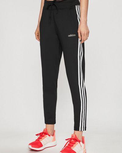 Спортивные брюки на резинке с карманами Adidas