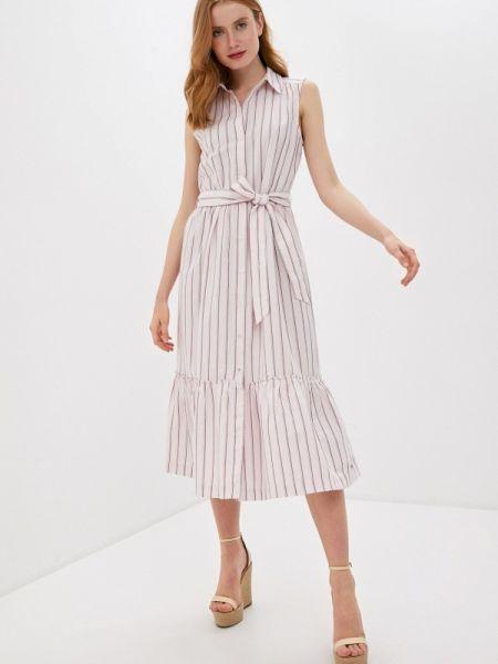 Платье розовое прямое Tommy Hilfiger