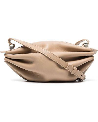 Brązowa torebka skórzana Bonastre