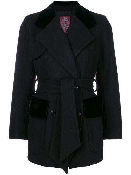 Пальто с манжетами John Galliano Pre-owned
