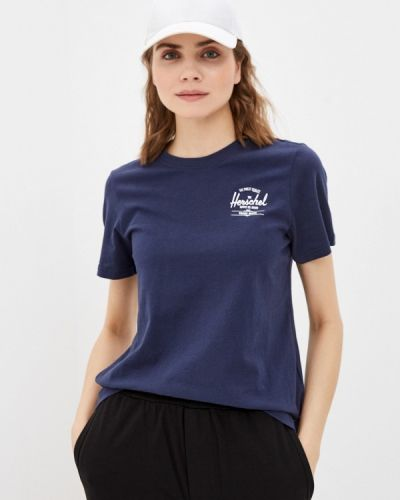 Синяя футболка Herschel Supply Co