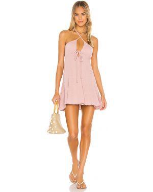 Sukienka na plażę bawełniana bezszwowa Ellejay