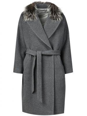 Пальто с капюшоном Peserico
