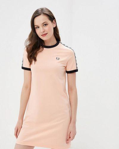 Футбольное розовое платье Fred Perry