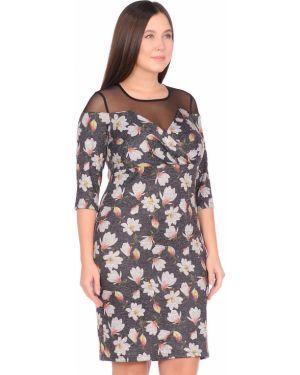 Вечернее платье миди с запахом Dream World