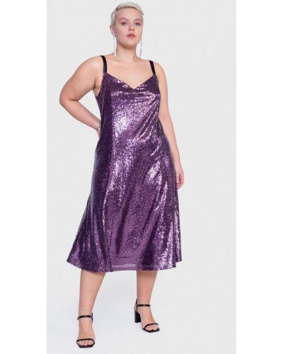 Вечернее платье - фиолетовое Lessismore