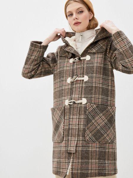Коричневое пальто с капюшоном On Parle De Vous