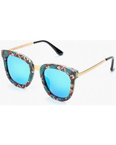 Бирюзовые солнцезащитные очки Vitacci