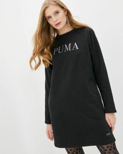 Черное платье Puma