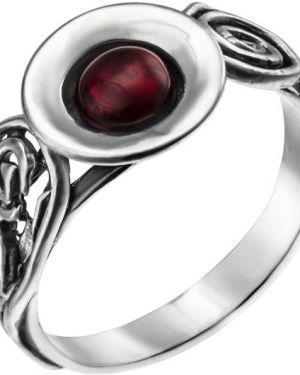 Кольцо из серебра красный Yaffo