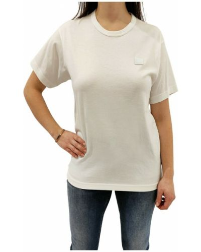 T-shirt - biała Acne Studios