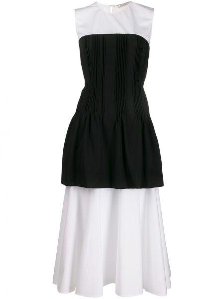 Платье каскадное на молнии Nina Ricci