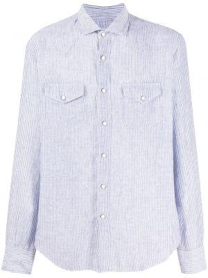 Koszula z długim rękawem wyposażone z kieszeniami Eleventy