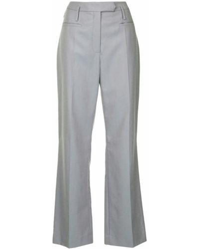 Брюки с завышенной талией брюки-хулиганы дудочки Nehera