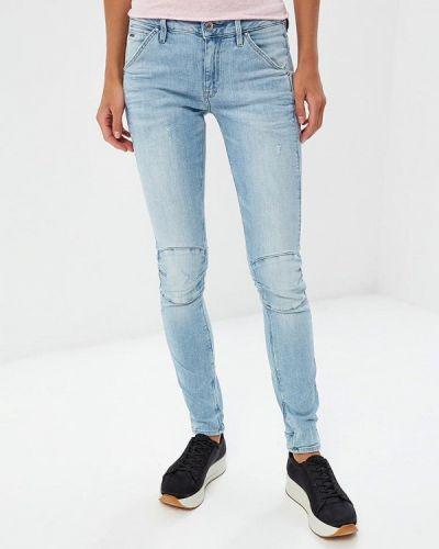 Голубые джинсы G-star